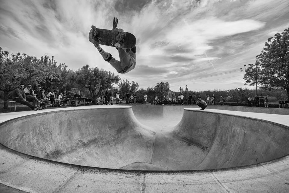 Immagine della pista da skateboard