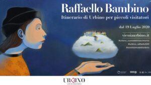 la locandina dell'itinerario per visitare Urbino
