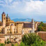 Panoramica della città di Urbino