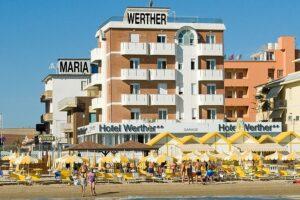 Hotel Werther 2 stelle a Torrette di Fano